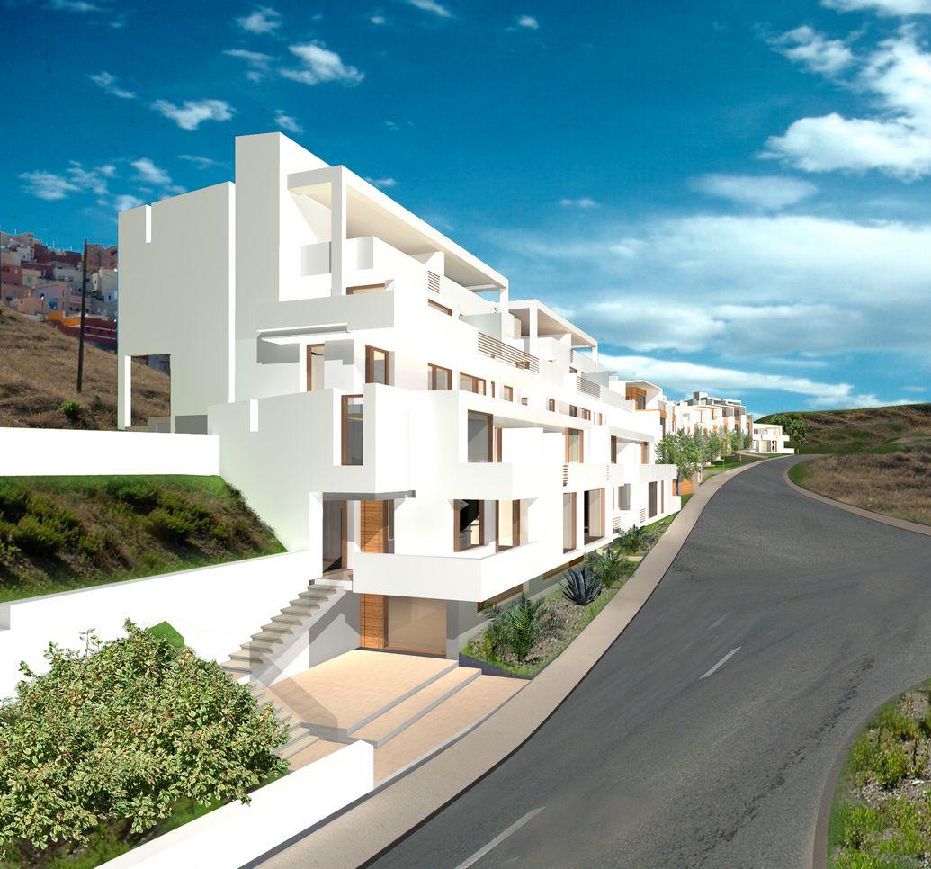 Spain Ceuta Terraced Houses Ceuta Spain